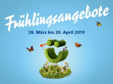 Frühlingsangebote im Centre Brügg!