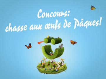 Concours: chasse aux oeufs de Pâques au Centre Brügg!