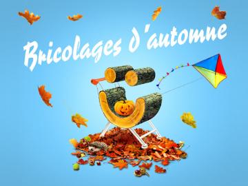 Bricolages d'automne pour enfants