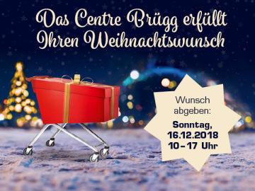 Das Centre Brügg erfüllt Ihren Weihnachtswunsch