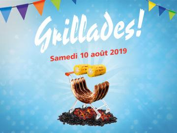 Grillades au Centre Brügg: Programme du samedi